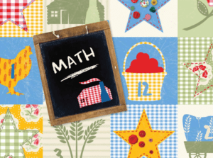 Little House on the Prairie Themed Free Math Printables - Quilt Themed!