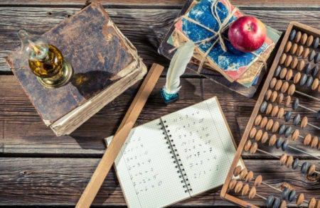 Vintage mathematics classes in school