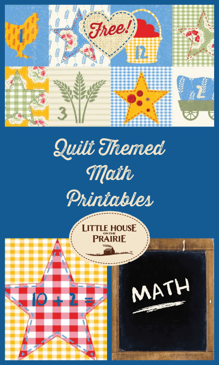 Little House on the Prairie Math Printables