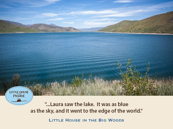 Laura saw the lake