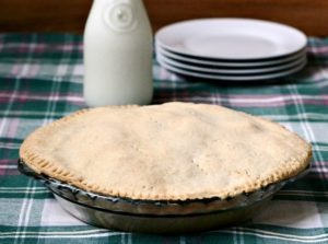Little House on the Prairie Apple Pie from Farmer Boy