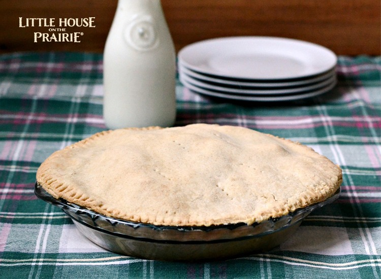 Little House on the Prairie Old-Fashioned Spicy Apple Pie