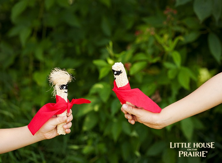 Make Your Own Corn Cob Dolls DIY