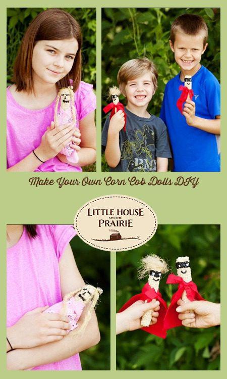 Make Your Own Corn Cob Dolls Little House Prairie Crafts