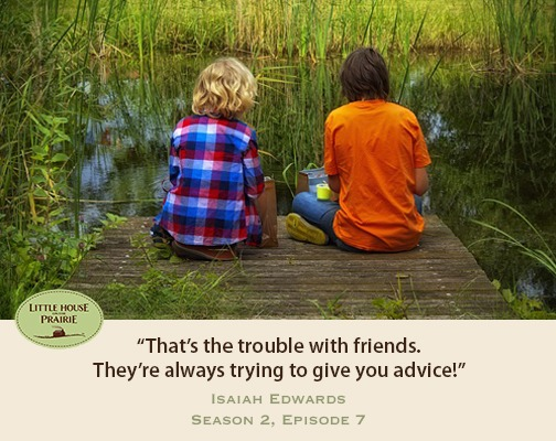That's the trouble with friends. They're always trying to give you advice!