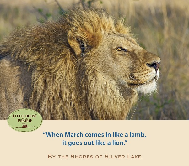 When March comes in like a lamb