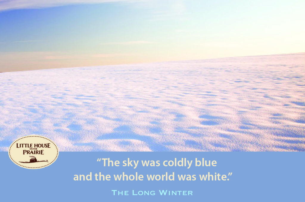 The sky was coldly blue