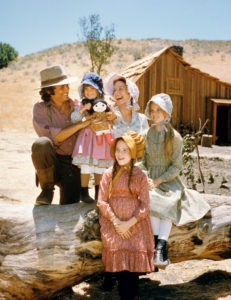 Ingalls family - stars of the hit Little House on the Prairie TV Show