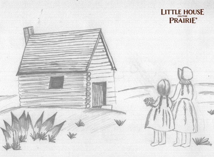 Little House on the Prairie Pencil Sketch – Fan Feature