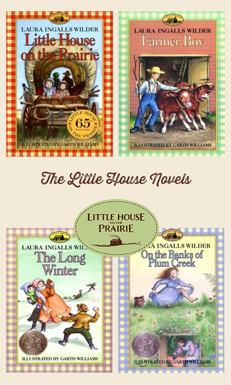 The Little House Novels - Pinnable