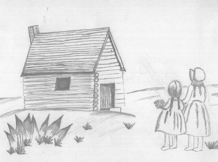 Fan Feature - Little House on the Prairie Pencil Sketch