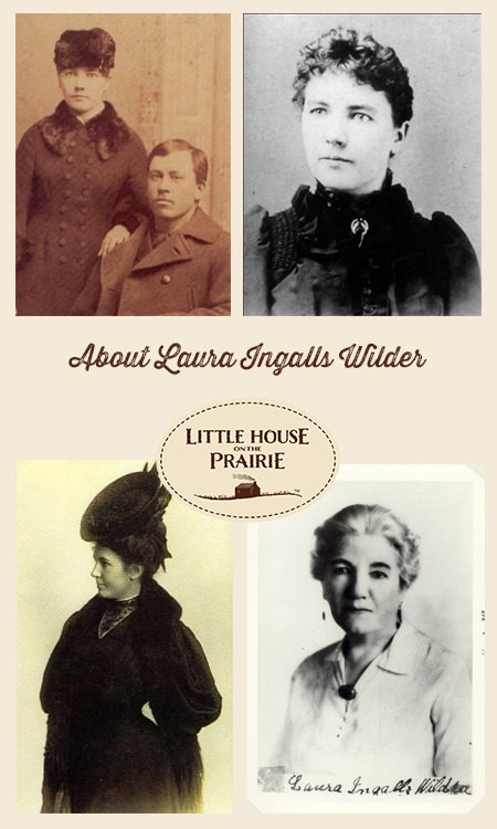 About Laura Ingalls Wilder