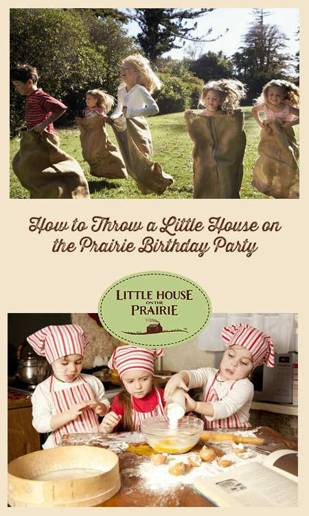 Little House On The Prairie Birthday Party Overview