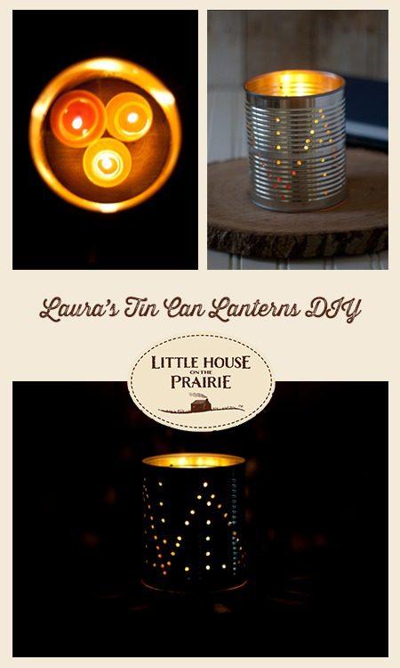 Laura's Tin Can Lanterns DIY