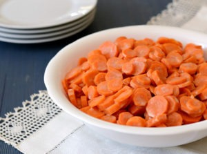 Little House Creamed Carrots Recipe Featured