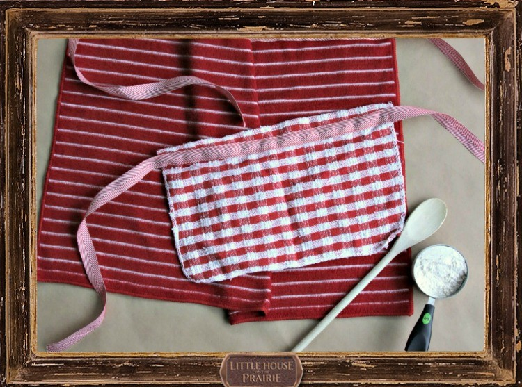 Homemade Mommy and Me Apron DIY