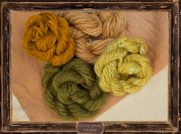 "How to Create the Green Yarn from ""Christmas at Plum Creek"""