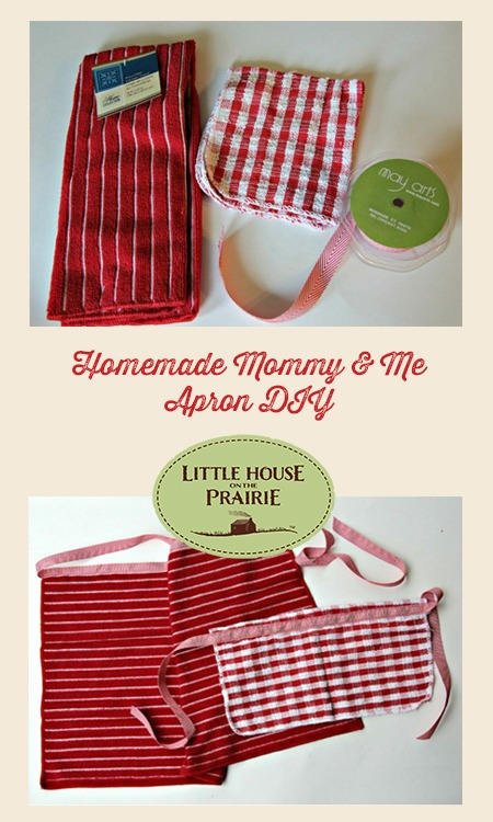 Easy-Sew Dishcloth Homemade Apron DIY