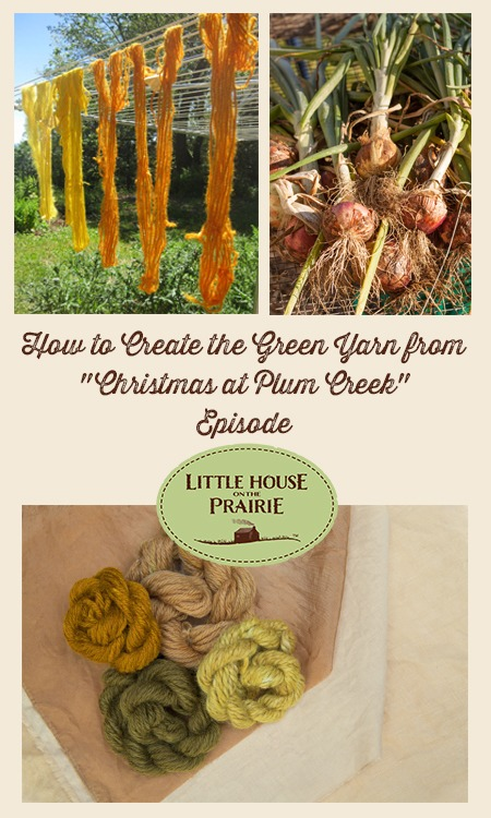 How to Create Green Yarn Using Natural Onion Skins for Dye