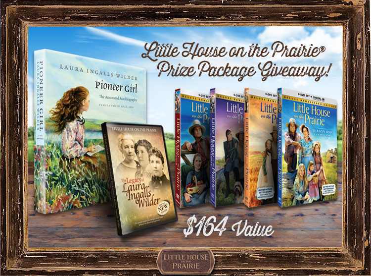 Little House on the Prairie Prize Package Giveaway