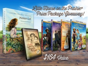 Little House on the Prairie Giveaway - DVD Sets, Documentary, and Pioneer Girl Books