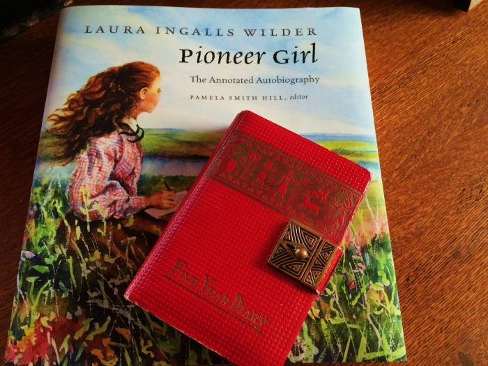 Pamela's first diary from 1965 with Pioneer Girl - the autobiography she edited and annotated.