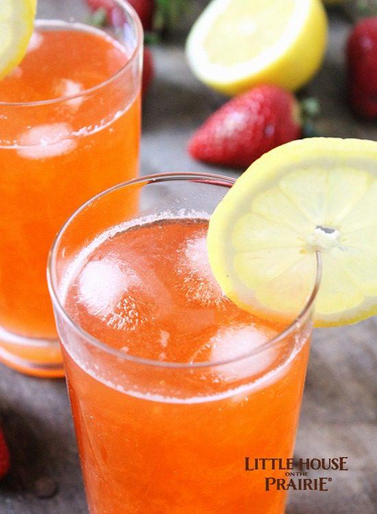 Delicious strawberry lemonade recipe - perfect summer refreshment!