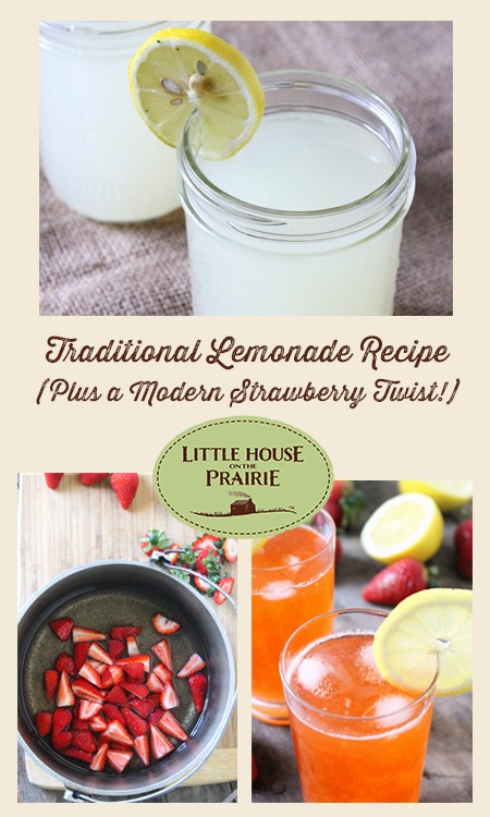 Traditional Lemonade Recipe (Plus a modern strawberry variation you won't want to miss!)