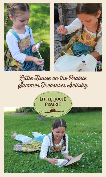 Little House on the Prairie Summer Treasures Activity