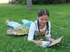 Little House on the Prairie Treasure Box Summer Activity Featured