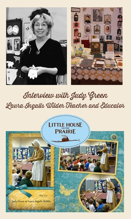 Interview with Judy Green - Laura Ingalls Wilder workshop teacher and educator!