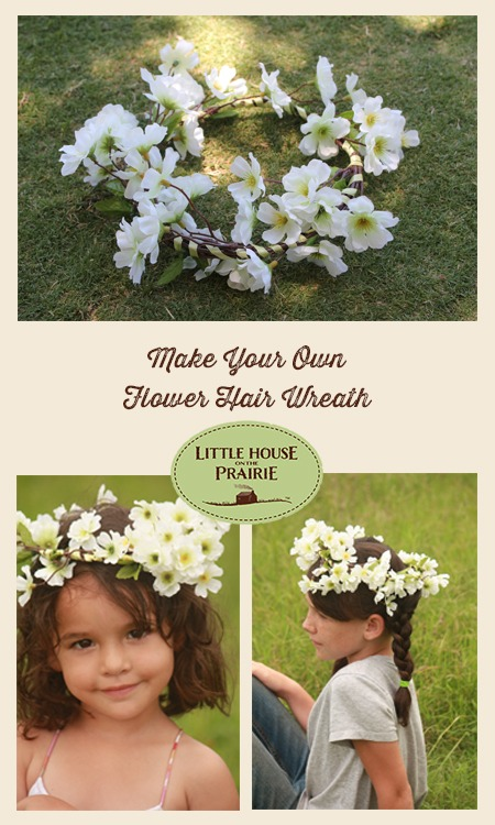 Make Your Own Flower Hair Wreath