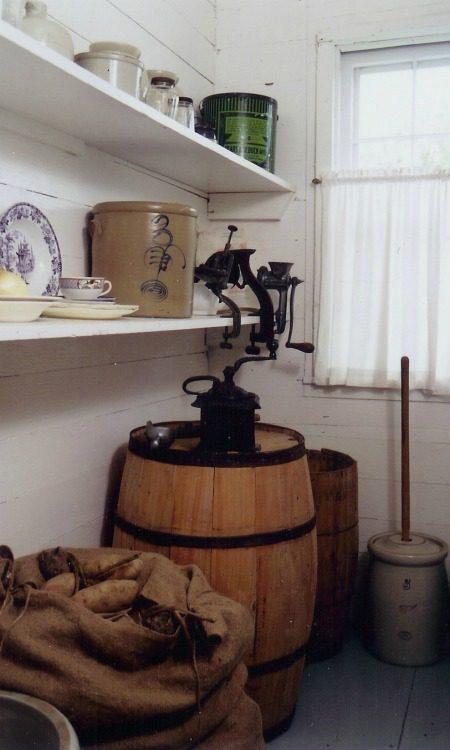 Pantry: Inside the Surveyor's House