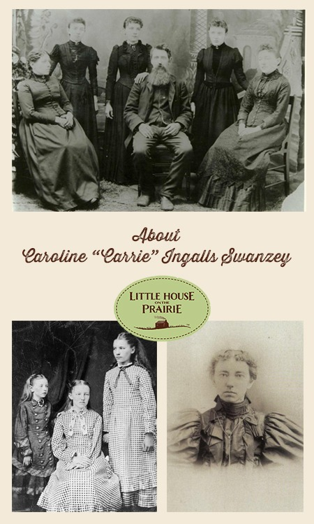 "Happy Birthday Carrie Ingalls! Caroline ""Carrie"" Ingalls Swanzey was the third child of Charles and Caroline, born August 3rd 1870."