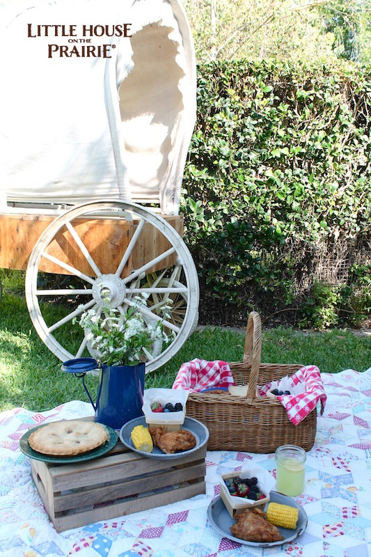 Little House on the Prairie Picnic Fun