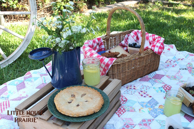 Little House on the Prairie Picnic Food and Fun