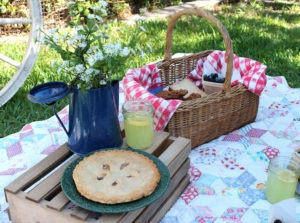 Little House on the Prairie Inspired Family Picnic Featured
