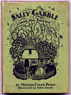 Sally Gabble and the Fairies - Another book illustrated by Helen Sewell