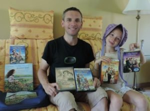 giveaway winners of the Little House on the Prairie prize package