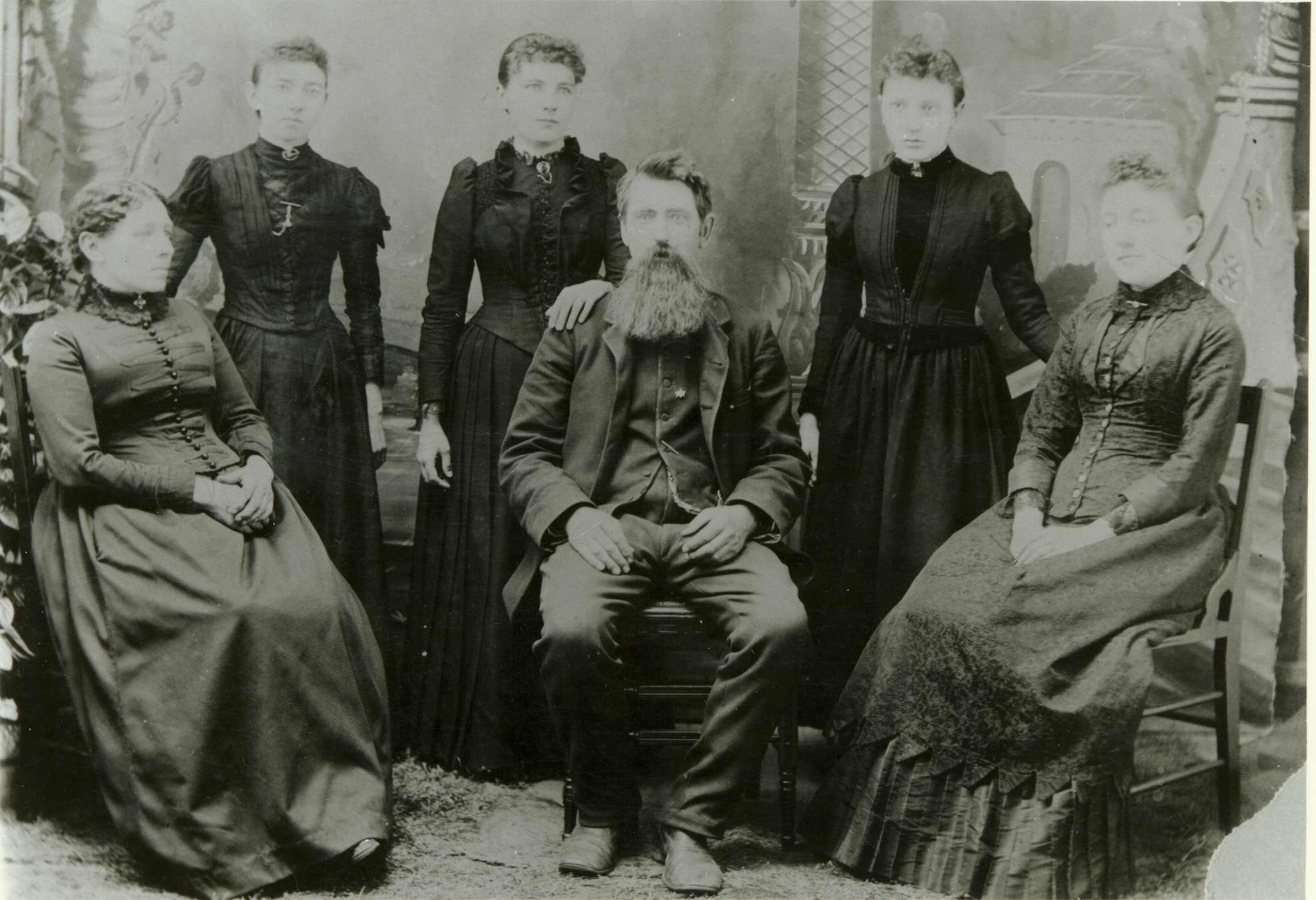 Ingalls Family, including Carrie Ingalls