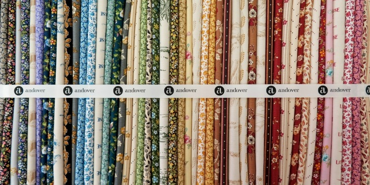Andover's Little House on the Prairie new quilting fabric line - brilliant colors and designs!