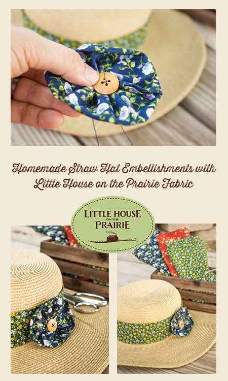Homemade Straw Hat Embellishments