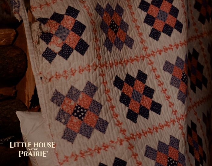 Quilts were used for privacy and warmth in pioneer era | Quilting with Laura Ingalls Wilder