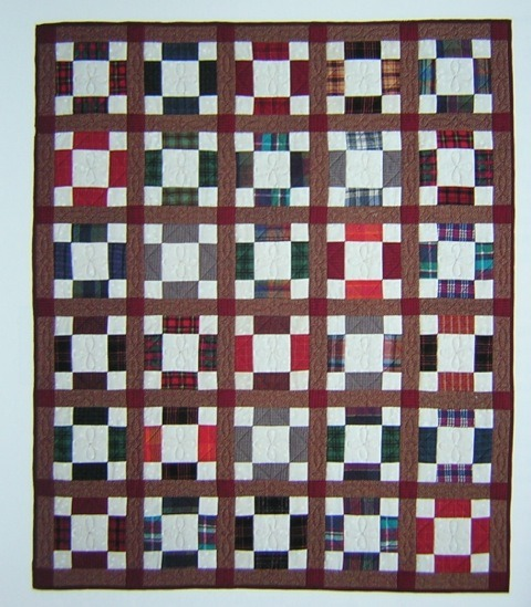 More intricate variation of the Nine Patch Pattern | Quilting with Laura Ingalls Wilder