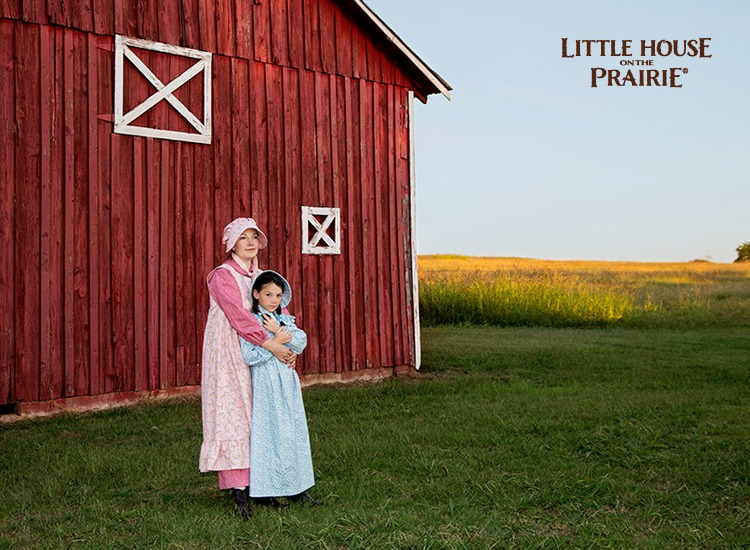 Little House on the Prairie Costume Dresses with Andover Fabrics' new fabric collection.