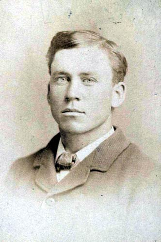 Almanzo James Wilder - a photo of the real man