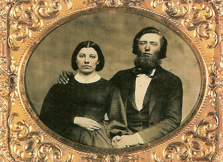 Caroline and Charles Ingalls - The original Ma and Pa. Read Laura's touching tribute to her Ma and see how Caroline Ingalls influenced our favorite writer.
