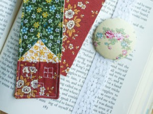 Handmade Fabric Bookmarks for Old-Fashioned Reading Fun Featured