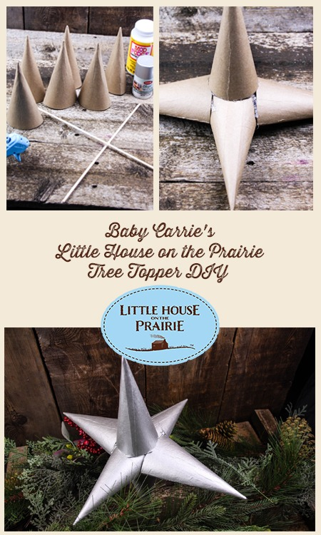 Baby Carrie's Little House on the Prairie Tree Topper DIY
