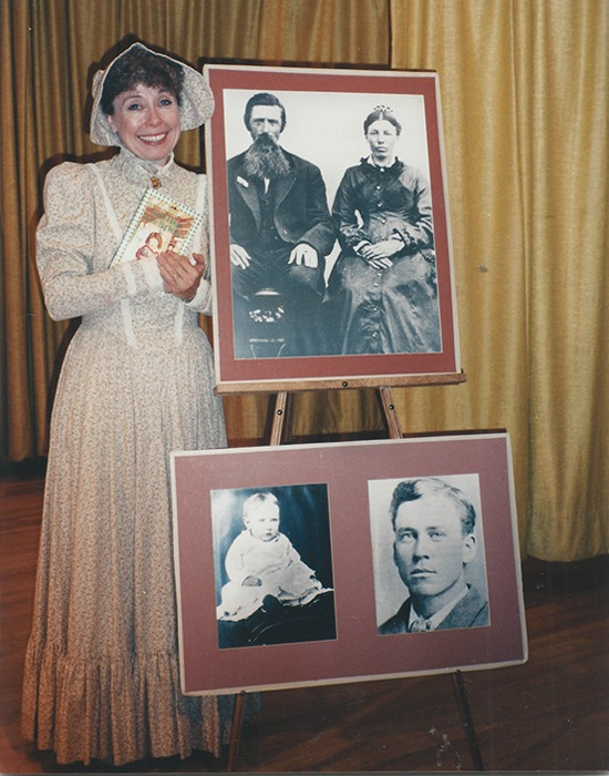 Laura Ingalls Wilder stand up show by Judith Helton - An interview with Little House on the Prairie